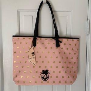 Wildfox Pink Tote Bag